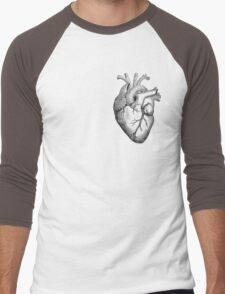 Anatomical Heart Men's Baseball ¾ T-Shirt