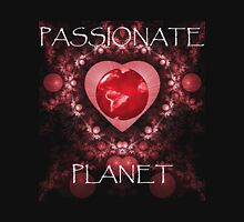 Passionate Planet Womens Fitted T-Shirt