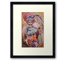 My little fairy Malvina Framed Print