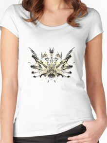 Rorschach King Gihdorah Women's Fitted Scoop T-Shirt