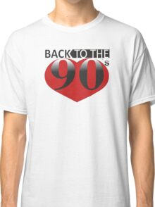 Back to the 90s Logo Classic T-Shirt