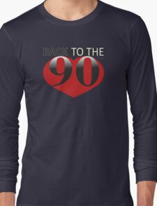 Back to the 90s Logo Long Sleeve T-Shirt
