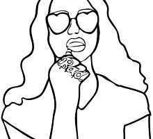Lana Del Rey - BAD Illustration by HausOfBaileyA