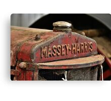Massey-Harris Canvas Print