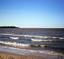 View from Patricia Beach (Lake Winnipeg) by Stephen Thomas