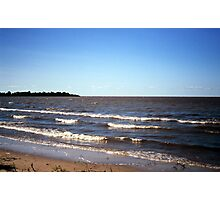 View from Patricia Beach (Lake Winnipeg) Photographic Print