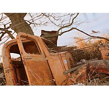 The Long-Lasting Truck  Photographic Print