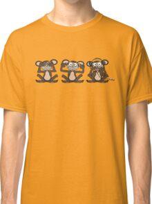 See No Evil Hear No Evil Speak No Evil iPod Tee Classic T-Shirt