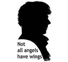 Not All Angels Have Wings - BBC Sherlock Photographic Print
