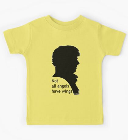 Not All Angels Have Wings - BBC Sherlock Kids Tee