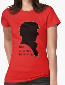 Not All Angels Have Wings - BBC Sherlock Womens Fitted T-Shirt