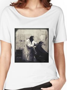 OLD SHANGHAI - My Barber, My Friend Women's Relaxed Fit T-Shirt