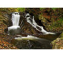 Falls Along Waterman Brook Photographic Print