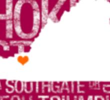 Virginia Tech State  Sticker