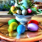 Eggcentric Still Life by Noble Upchurch
