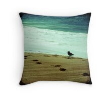 BEACH BLISS - Contemplate Throw Pillow