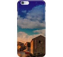 Sunset at Peggy's Cove 05 iPhone Case/Skin