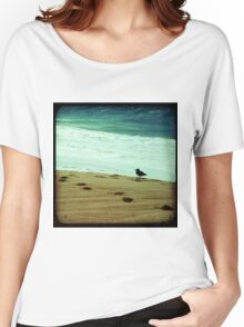 BEACH BLISS - Contemplate Women's Relaxed Fit T-Shirt