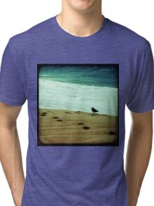 BEACH BLISS - Contemplate Tri-blend T-Shirt