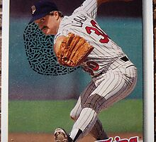362 - Terry Leach by Foob's Baseball Cards