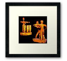 3 Drum Dance Party Framed Print