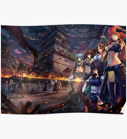 Warriors of Edo Poster