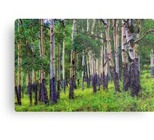 The Forest's Edge Metal Print