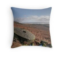 Stanage Edge: The Peak District Throw Pillow