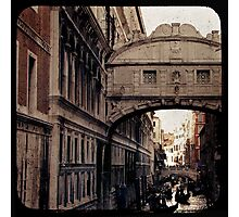 MERCHANT OF VENICE - Bridge of Sighs Photographic Print