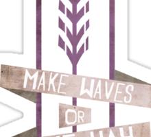 Make Way Sticker