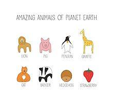 Amazing Animals by suckmyarts