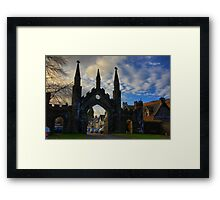 Taymouth Castle Gate Framed Print