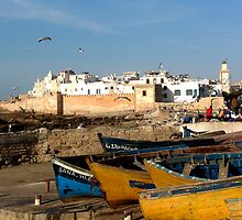 Fishing boats, Essouira, Morocco by gumblossom