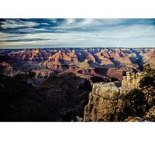 Grand Canyon View from El Tovar Photographic Print