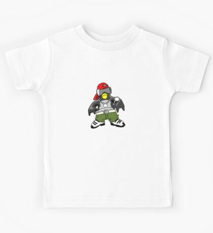 Hip Hop Tux Kids Tee