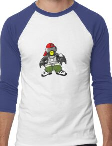 Hip Hop Tux Men's Baseball ¾ T-Shirt
