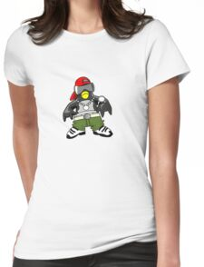 Hip Hop Tux Womens Fitted T-Shirt