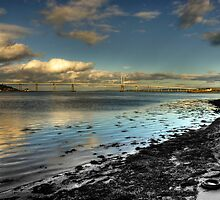 Bridge over the Moray Firth  by Fraser Ross