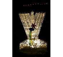 Menorah on the Square Photographic Print