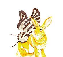 Elf Bunnyfly by ArtbyMinda