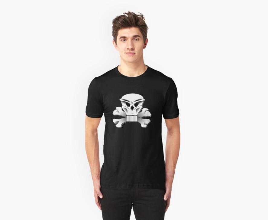 Skull With Attitude by 1CrazyDJ