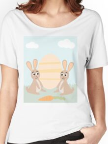 Easter Bunny Rabbits Women's Relaxed Fit T-Shirt