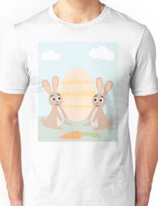 Easter Bunny Rabbits Unisex T-Shirt