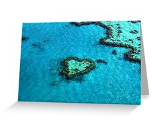 Heart Reef Greeting Card