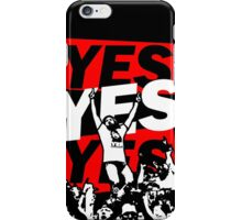 Yes Movement! - Black iPhone Case/Skin