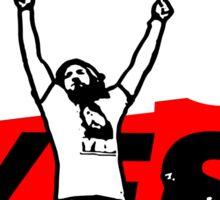 Yes Movement! - Black Sticker