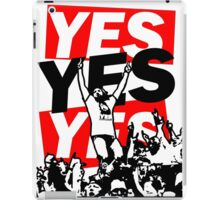 The Yes Movement [White] iPad Case/Skin