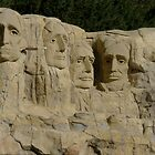 Mount Rushmore... In Lego by genevaspecials