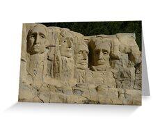 Mount Rushmore... In Lego Greeting Card