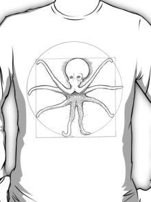 Vitruvian Cephalopod T-Shirt